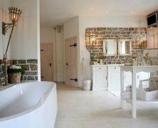 Badezimmer –  Landhausstil Badmöbel